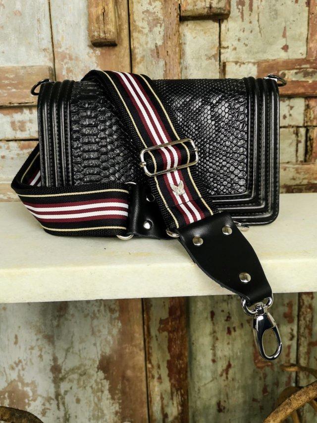 Correa intercambiable para bolsos diseñado y hecho en España de forma artesanal Marias Valley bolsos de moda diseño y originalidad