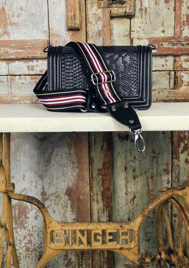 correa mary Correa intercambiable para bolsos diseñado y hecho en España de forma artesanal Marias Valley bolsos de moda diseño y originalidad